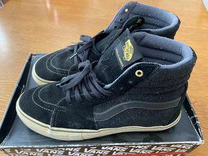 Vans SK8 Hi Shoes Black Grey Wool Used for Sale in Cypress, CA