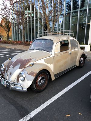 1967 VW Volkswagen Bug Beetle runs amazing and in great condition disk brakes lots of new parts. Consider trade for old truck. for Sale in Sherwood, OR