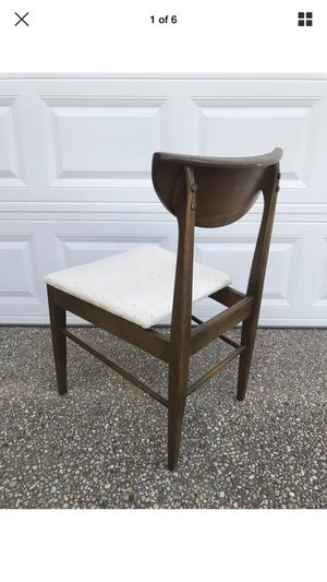 Vintage mid century modern floating desk side dining chair for Sale in Washington, DC