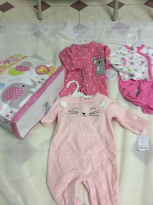 Carter's baby girl newborn-3 mos, brand new/ almost new games, some still in unopened package for Sale in Seaford, DE