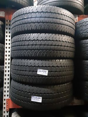 4 USED TIRES LT275/65R20 MICHELIN LTX AT2 10PLY 275 65 20 for Sale in Fort Lauderdale, FL