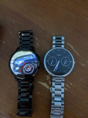 Moto 360 1st Gen & 2nd Gen for Sale in Fresno, CA