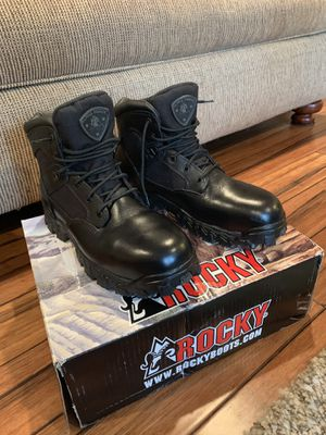 "Work boots - Rocky 6"" AlphaForce - 10.5M for Sale in Auburn, WA"