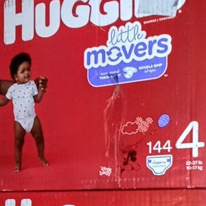Huggies Little movers size 4 for Sale in Commerce, CA