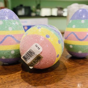 Beautiful Soft Glitter Easter Eggs, 3 Magnetic Bottom for Sale in Washington, DC