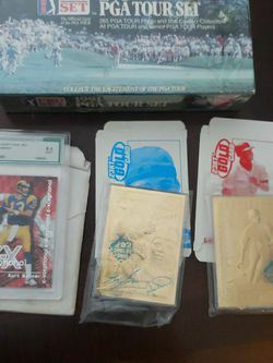 Football,Baseball, Basketball And Golf Cards for Sale in Arlington,  WA