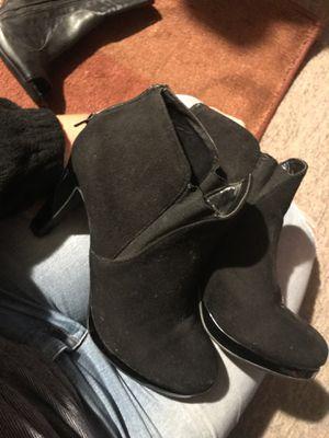 Size 9 black heels for Sale in Winter Haven, FL