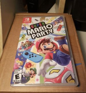 Super Mario partyNintendo switch brand new for Sale in Hollywood, FL