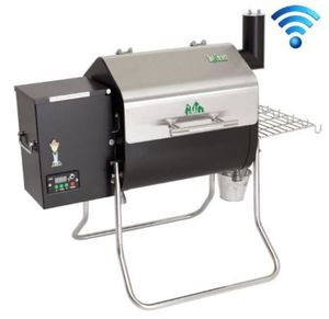 🔥🍗WiFi Enabled Wood Pellet Grill For Outdoor Backyard Garden Patio BBQ for Sale in Burbank, CA