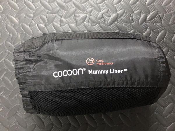 Cocoon Merino Wool Mummy Bag Liner