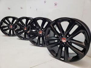 "19"" Jaguar F- PACE black wheels rims for Sale in Solana Beach, CA"