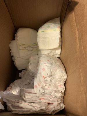 New born diapers 130 for Sale in Houston, TX