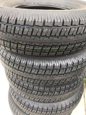 4x trailer tire 225x75 -15 10 ply $245 price firm no bargain for Sale in San Bernardino, CA