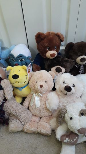 Plush Bears and other stuffed animals for Sale in South Norfolk, VA