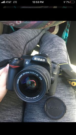 Nikon d80 camera for Sale in Las Vegas, NV