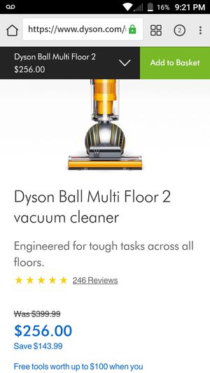 DYSON Ball Multi Floor 2 Vacuum cleaner for Sale in Columbus, OH