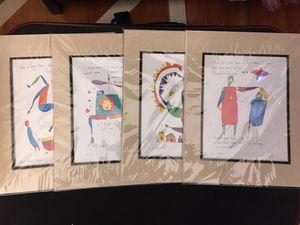 Brian Andreas Storyteller watercolors art for Sale in Los Angeles, CA