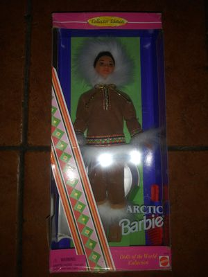 Brand new Arctic dolls of the world collection Mattel Barbie doll for Sale in Hawthorne, CA