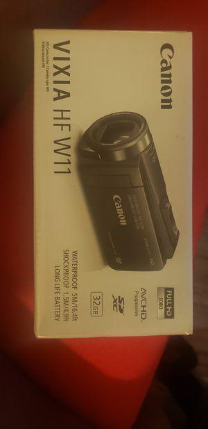 Canon vixia HD w11 for Sale in Philadelphia, PA