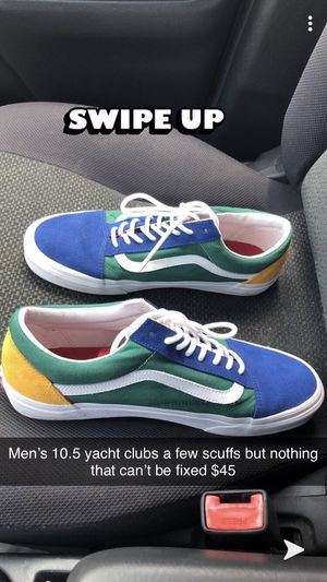 Yacht club vans men's 10.5 for Sale in College Station, TX