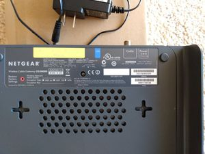 Modem router combo netgear cg3000d for Sale in San Diego, CA