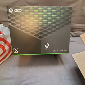 Xbox series X Factory Sealed In Box With Receipt for Sale in Tempe, AZ
