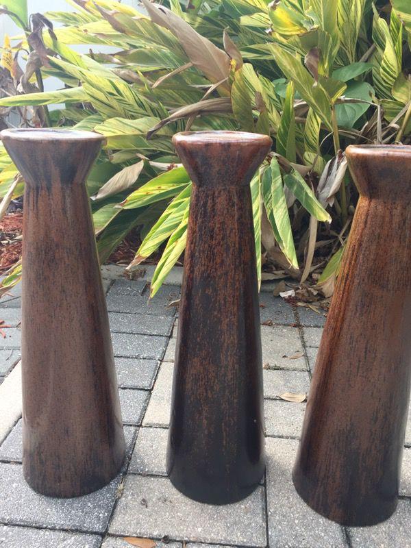 Decorative Candle Holders / Pillars