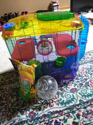 Hamster cage everything included for Sale in Kingsport, TN