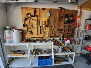 Vintage Hand Tools lot bulk Wrenchs, drills rustic. for Sale in Dublin, OH
