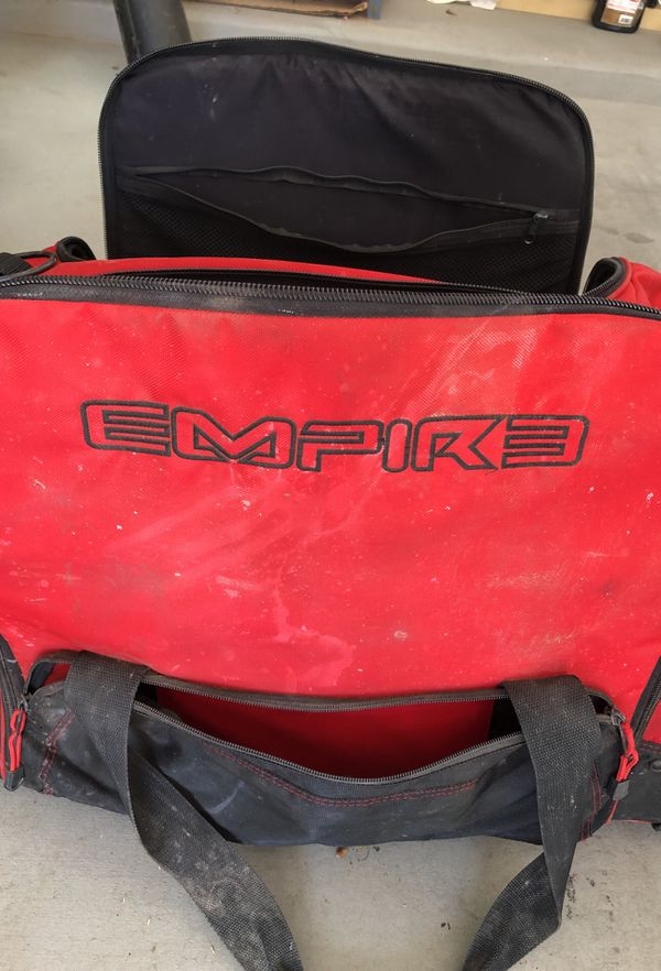 Empire paintball rolling duffle bag