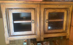 Solid Wood TV Stand for Sale in YPG, AZ
