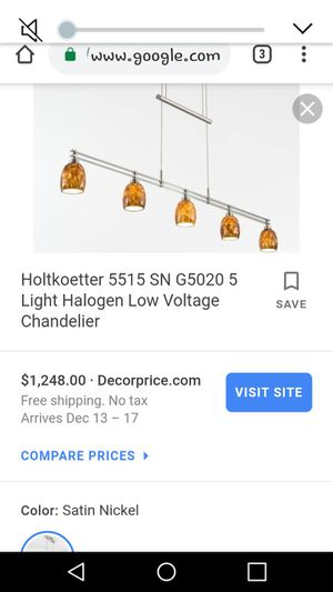 HoltKotter Designer Light Fixture for Sale in Hendersonville, TN