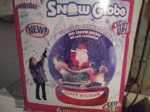 Airblown globe disney christmass for Sale in Allentown, PA