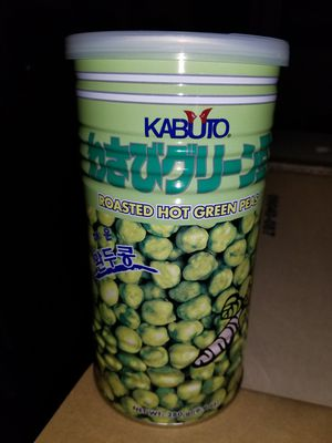 Freshly imported hot Wasabi peas for Sale in Menasha, WI