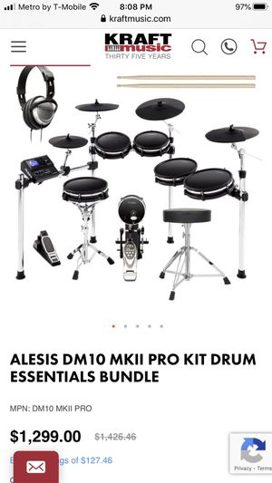Electric drum set for Sale in Fenton, MO
