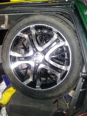 """20"""" tires and rims for Sale in Merced, CA"""