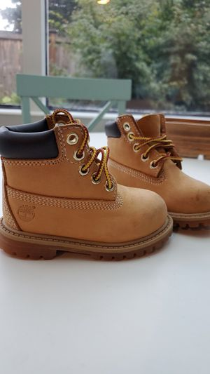 Baby Timberland Boots (authentic) 5c for Sale in Seattle, WA