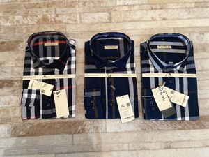 New men's Burberry dress shirts small to 2xl for Sale in Bakersfield, CA
