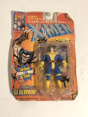 1992 Kenner The Uncanny X-Men Wolverine 3rd Ed Action Figure for Sale in Fresno, CA