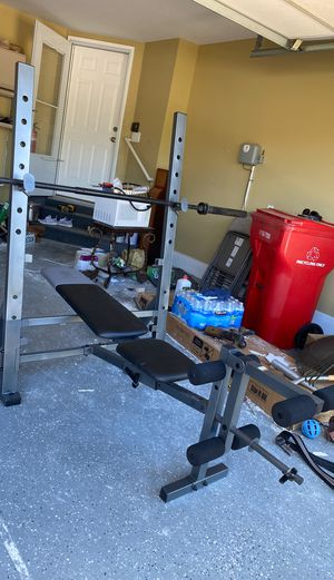 Elliptic weight bench for Sale in Macomb, MI