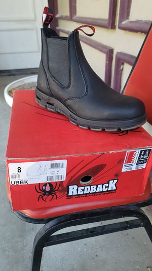 Red Back Mechanic work boot for Sale in Moreno Valley, CA