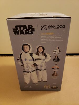 NEW Star Wars Selk'bag Stormtrooper Sleeping Bag Size L for Sale in San Diego, CA