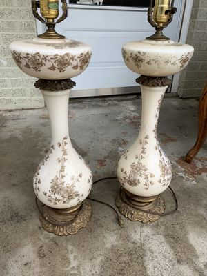 Lamps - Pair - Vintage for Sale in Dallas, TX