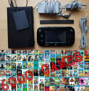 Nintendo Wii U Console Bundle with over 6000 games & MORE! for Sale in New York, NY