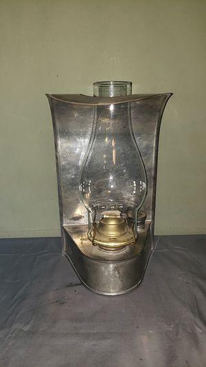 ANTIQUE UNION PACIFIC RAILROAD TRAIN CABOOSE KEROSENE LANTERN WALL LAMP for Sale in Grand Blanc, MI