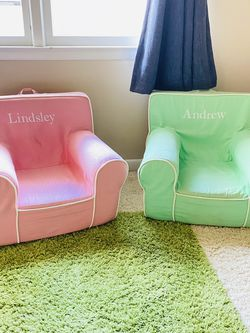 Pottery Barn Kids Customized Pillow Chairs for Sale in Darien,  CT