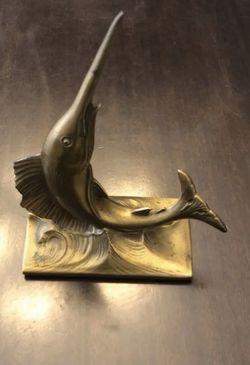 Vintage Cast Metal Swordfish for Sale in Fort Myers,  FL