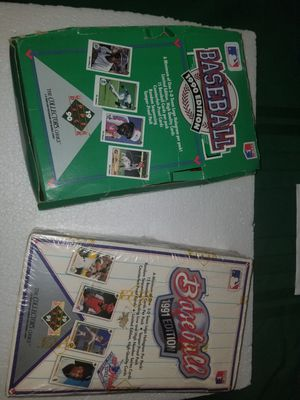 1990 and 1991 Upper Deck Baseball Unopened Baseball Cards for Sale in Charlotte, NC