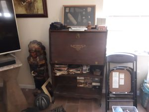 Wooden writing desk for Sale in Avon Park, FL