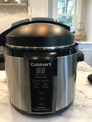 Cuisinart Electric Pressure Cooker for Sale in Alexandria, VA